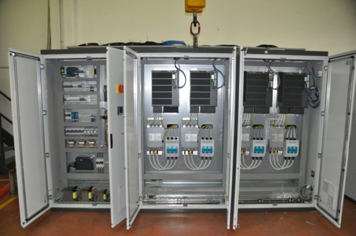 Quadri elettrici per impianti bordo macchina