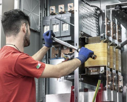 'manutenzione quadro elettrico'
