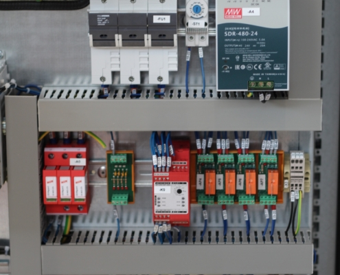 """""""electrical panel with PLC"""""""