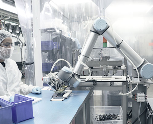 """""""robot collaborativo produzione"""""""